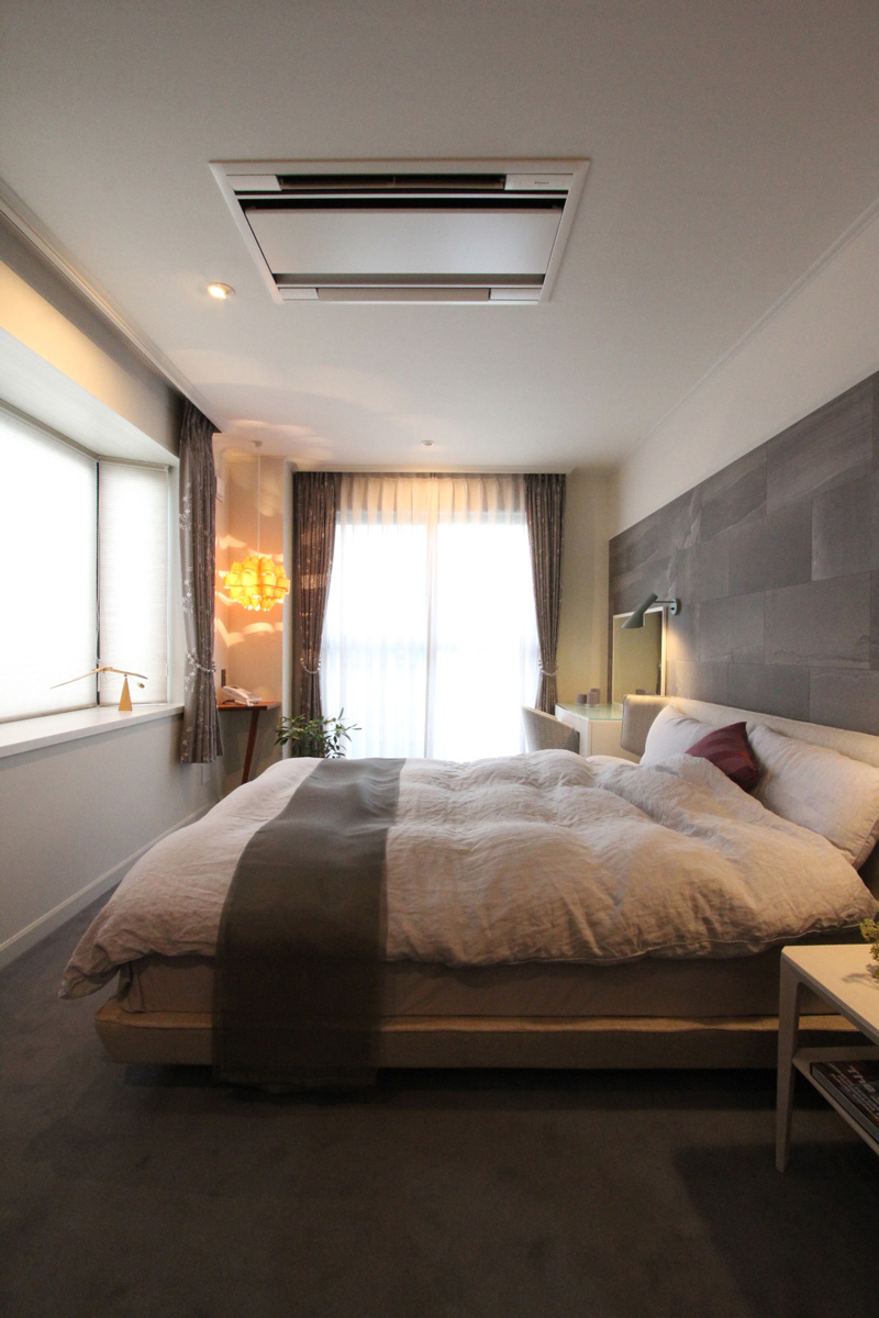 快適な寝室空間