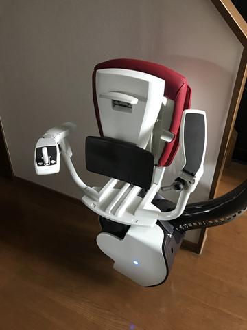 椅子式階段昇降機の椅子のカラーは選べます