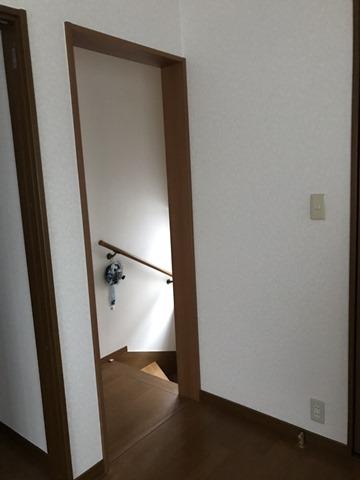 施工前の階段の様子2F