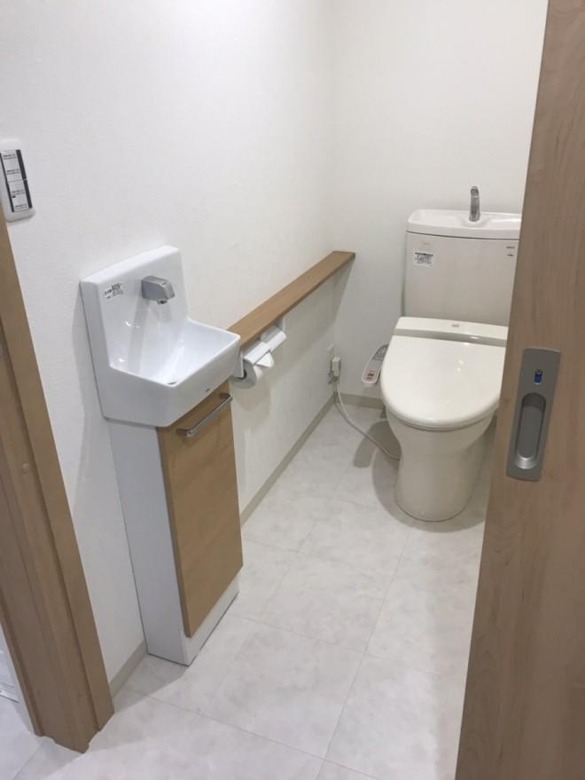 新しいトイレルーム